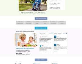 Nambari 80 ya Redesign this home page based on the brief provided na ikbalh2