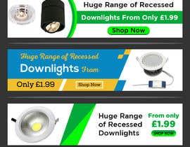 #39 para Design a stunning website banner to promote our range of downlights de owlionz786