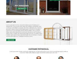 #17 for Build windows and doors company website by WebCraft111