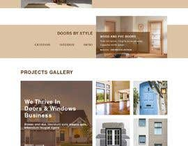 #20 for Build windows and doors company website by Aloknano
