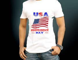 #35 for Design USA Independence day, with USA flag too, it's an image who will be printed on a Tshirt -- 2 by Ronysheikh107