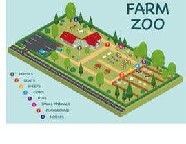 Nambari 11 ya Make a friendly map of a petting zoo na javiermc66