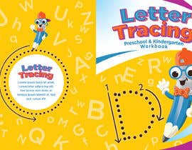 #19 for Letter Tracing for Kids Book Cover by r063rabad