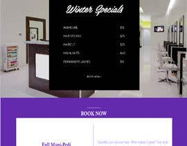 #28 for Design a Website Mockup / wordpress templete for Ladies Salon by FALL3N0005000