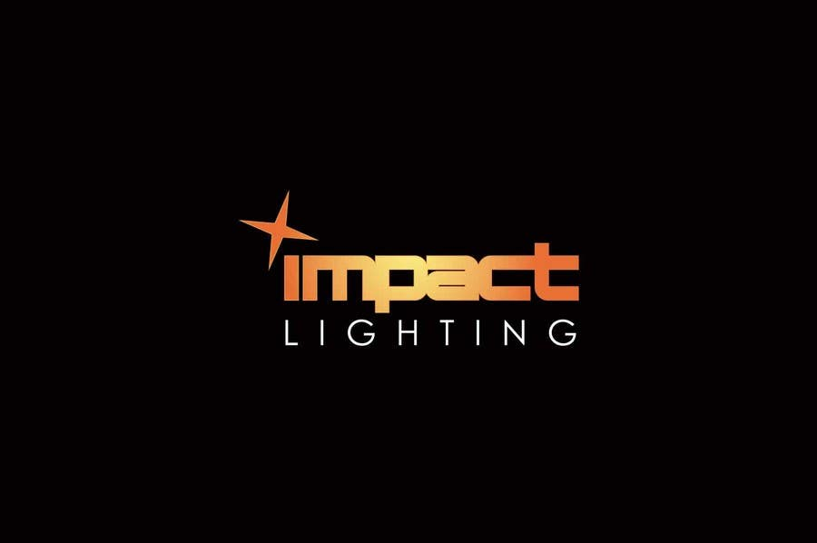 #9 for Logo Design for Impact Lighting by IzzDesigner