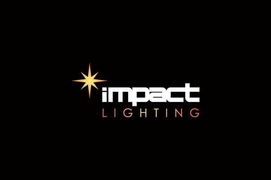 #10 for Logo Design for Impact Lighting by IzzDesigner