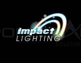 #141 para Logo Design for Impact Lighting por phyreinnovation