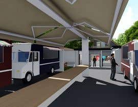 #8 for Food Truck yard concept design af creatiVerksted