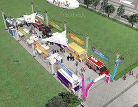 #4 for Food Truck yard concept design af faisolfuady