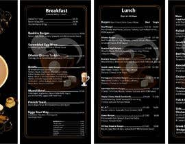 #6 for Tri-fold Brochure for cafe Open 6 days left by Ashraful079