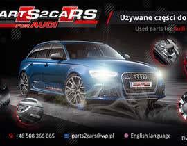 #39 for Nowy szablon ALLEGRO dla firmy parts2cars / części do AUDI by creative2pl