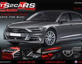 #8 for Nowy szablon ALLEGRO dla firmy parts2cars / części do AUDI by ssikora