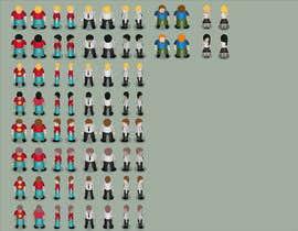 Nro 19 kilpailuun Design Some 2D models for video game käyttäjältä javiermc66