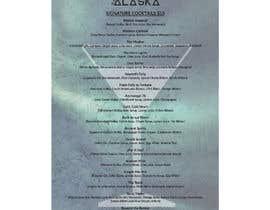 #79 for Bar Alaska Menu by svetlanadesign