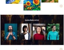 #7 for Fine art website by mblogics