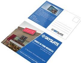 nº 34 pour SkySlate Design a Small Business Postcard par anantomamun90