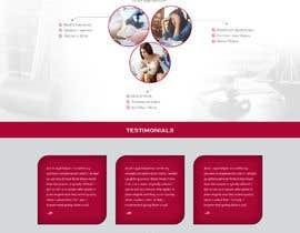 #38 for Design a Website Mockup: Lawyer-type Website by rosepapri