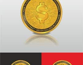 #35 for Design for a modern crypto coin the front and back in 3D. by engabousaleh