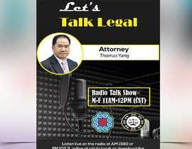 #64 for Radio talk show flyer by khannaeem