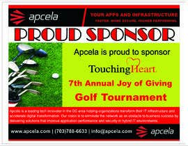 #44 for Design Sponsor Ad for Golf Tournament Brochure av reeyanshp