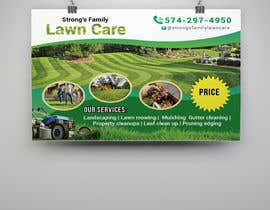 #49 for Design a lawn care flyer by raciumihaela