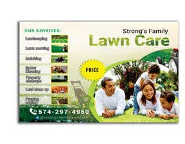 #53 for Design a lawn care flyer by raciumihaela