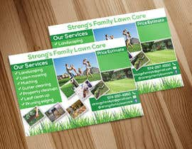 #34 for Design a lawn care flyer by ajahan398