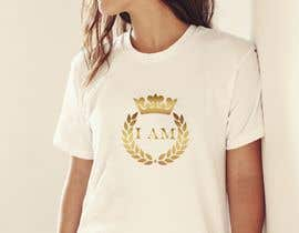 """#99 for I need a logo for a T-shirt that says """"I Am"""". I want a tilted crown on the """"I"""". I need a king and queen crown. by claudiu152"""