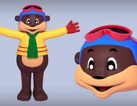 #19 for Draw two 3D image of bear mascots by artseba185