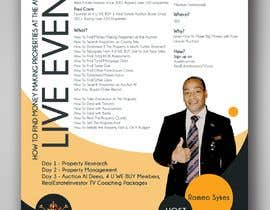 #4 for Design a Flyer for LIVE Real Estate Event by vaishaknair