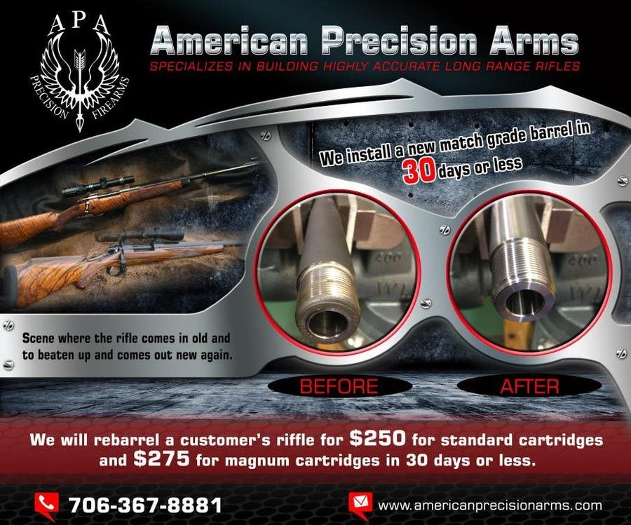 #7 for Banner Ad Design for American Precision Arms by arteq04