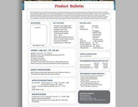 #29 for Design a Technical Data Sheet by princegraphics5
