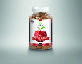 #39 for Design Label (and 3D Renders) for Supplement Bottle by Krcello