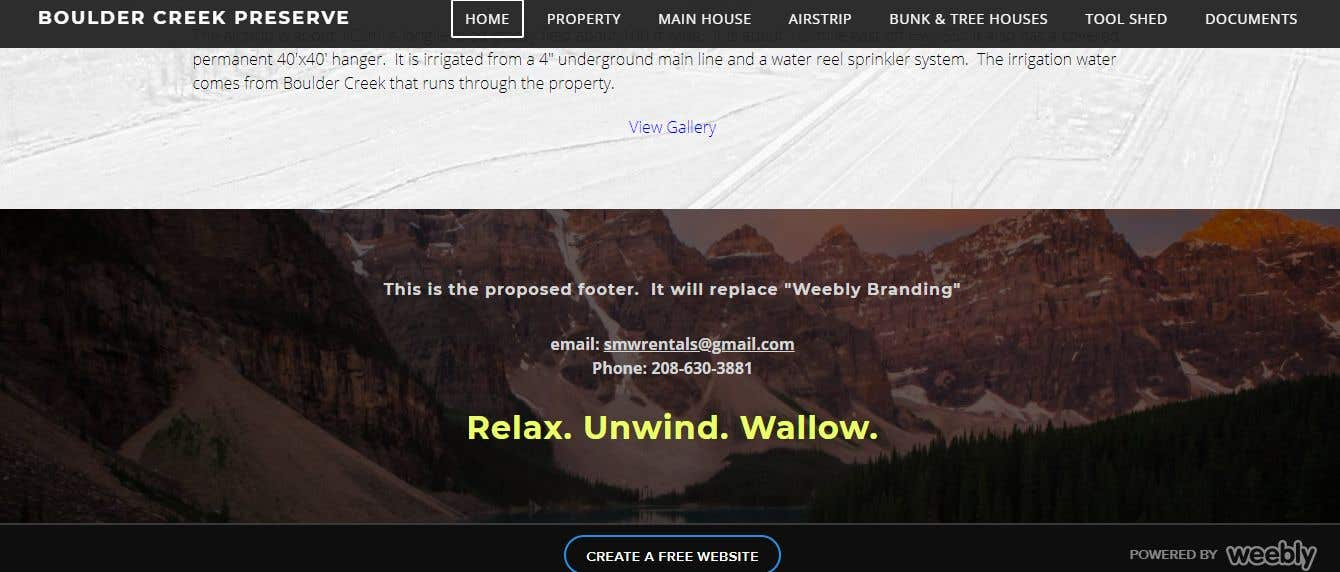 Entry #10 by shopshoppy for Weebly Website Makeover