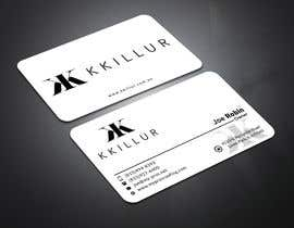 #2 for Design some Business Cards KKILLUR by safiqul2006