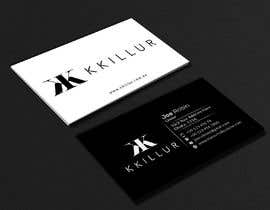 #4 for Design some Business Cards KKILLUR by safiqul2006