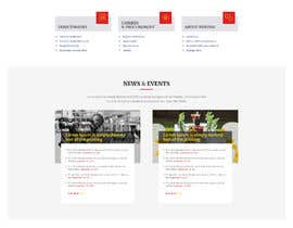 #61 for Redesign my Home Page Website by aliul