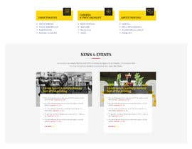 #64 for Redesign my Home Page Website by aliul