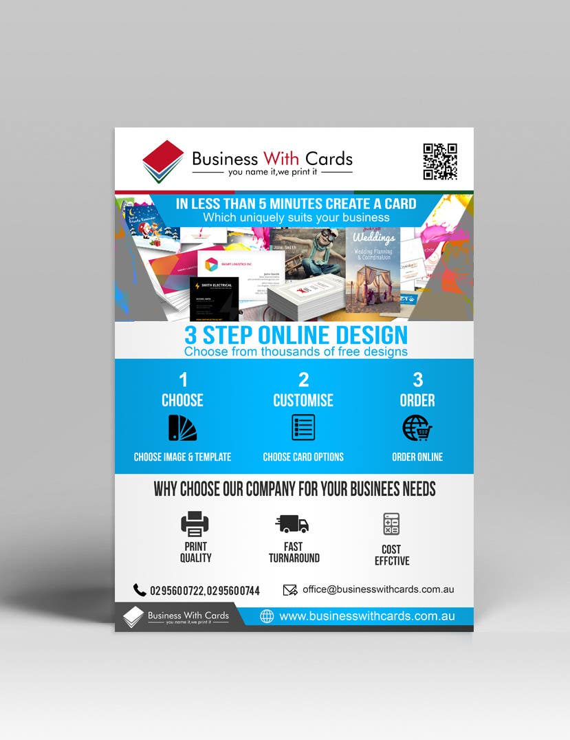 Entry 26 By Mostofafx For Design A Marketing Flyer For A Printing