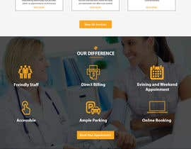 #18 for Create a landing page for naturopathic doctors at NCMC by ehsanweb7
