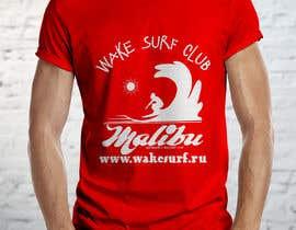 #91 for T-shirt for Wake Surf Club by FARUKTRB