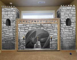 #4 for Illustrate castle-theme cabinet/bed in kids room by jrtcheng87