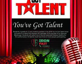 #25 for Design a Flyer - Talent Show by narayaniraniroy