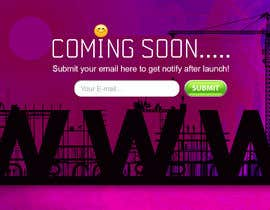 #13 for Design an Attractive Coming Soon Page by AndITServices