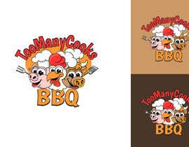 #113 for Design a funny bbq logo by Attebasile