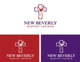#20 for Church Logo Design Featuring a Cross and Dove by fokirchan71