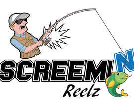 #40 for Comical/funny Fishing Logo by suhebat