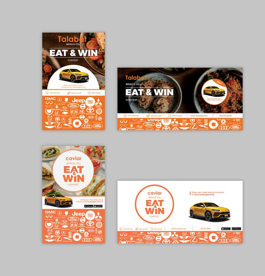 Entry #10 by znxked for Advertisement campaign for a food