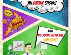 #14 untuk Create a Comic Book style Marketing Flyer oleh d3stin