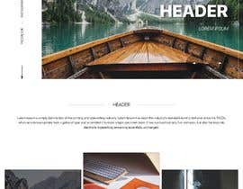 #8 for Personal landing page by ioxhklgutq